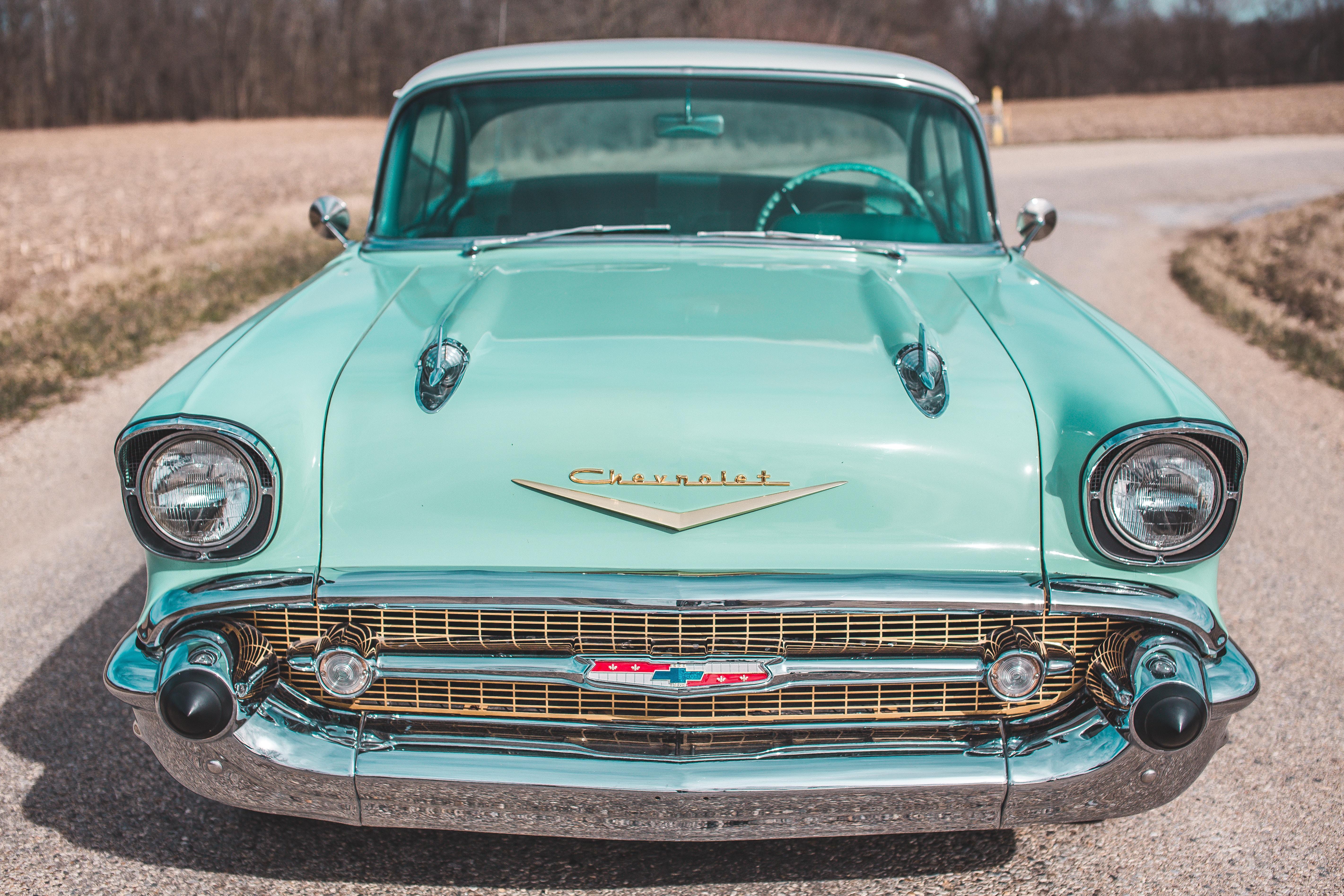 Vintage Teal Chevrolet